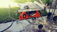 Ridgid R4510 Heavy-Duty Portable Table Saw with St Riverside, 92505