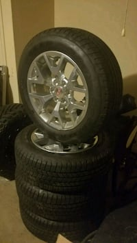"""20"""" inch Chrome Wheels with Tires Amarillo, 79119"""