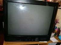black Sanyo box screen TV Shreveport, 71103