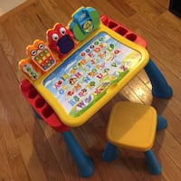 VTech Touch and Learn Activity Desk Deluxe  and new activity cards!