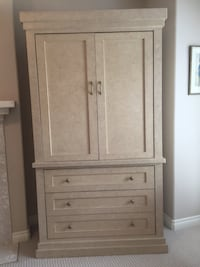 "Beautiful Custom Armoire!  H-78"" W-44"""