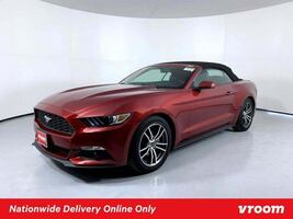 2017 Ford Mustang Red Convertible