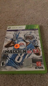 Madden nfl 13 xbox 360 game  Norton Shores, 49441
