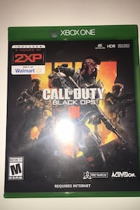 Call of duty black ops 4, Xbox game Baltimore, 21234