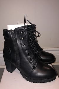 Black Boots - Never Worn - Size 8 Vaughan, L6A 1V4