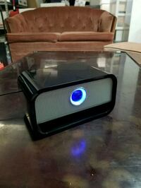 Brookstone Big Blue bluetooth speakers  Rockville