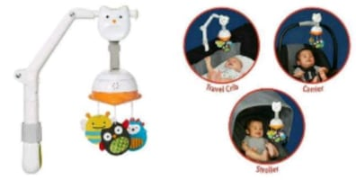 Baby musical travel mobil.