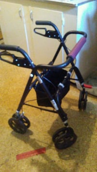 black and blue rollator walker Winnipeg, R3G 3G4