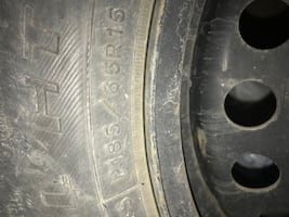 Tired 185/65r/15..almost like brand new tires