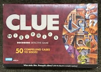 2005 Parker Brothers CLUE Mysteries Decoding Detective Board Game NEW. Stockton, 95209