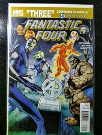 Fantastic Four 583 (9.0) VF/NM (human torch) Kettering, 20774
