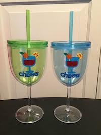 2 glasses (will personalize ) Barrie, L4M 2M4