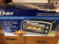 black and white Oster toaster oven box Burke, 22015