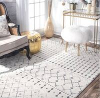 Brand new Extremely beautiful Turkish Blyth Grey 8x 10 ft Area Rug Mississauga, L5C 1A7