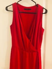 women's red sleeveless dress Vaughan, L4K 5T4