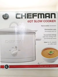 NEW Chefman slow cooker