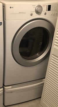 LG Dryer Only with Pedestal/drawer for Sale