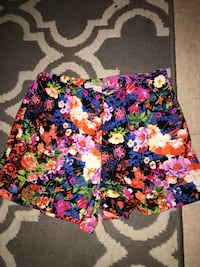 black, pink, and green floral skirt Colorado Springs, 80913
