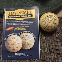 Special Training Cue Ball Jim Rempe Calgary, T2C 2G6