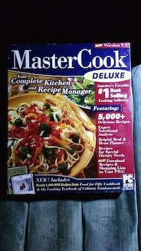Master Cook Deluxe New Version 7.0 Software for PC