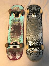 Two teal and black skateboards Winston-Salem, 27104