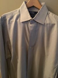 Green and navy check Ralph Lauren size 151/2  33 sleeve or medium excellent condition dry cleaned Farmingdale, 11735