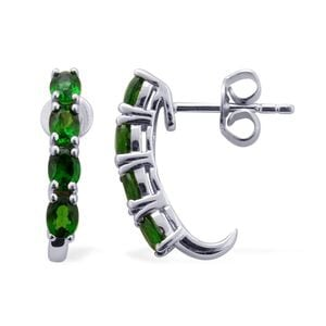 Russian Diopside Earrings