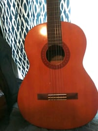 brown and black dreadnought acoustic guitar Plainfield, 07062