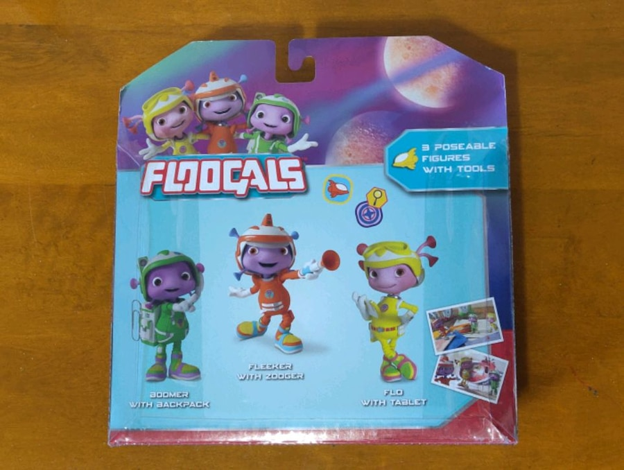 Floogals Just Play 3 Pack Figures with Tools Accessories New Sealed Toys