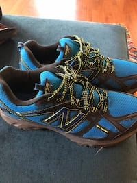 Pair of blue-and-black running shoes Ashburn, 20147