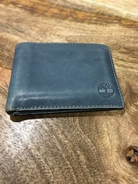 Blue Leather Timberland Wallet Toronto, M8Y 4G7