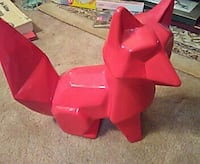 Ceramic red fox Tavares, 32778