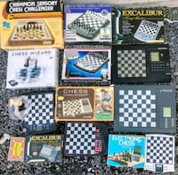 Electronic chess game  Woodstock, 22664
