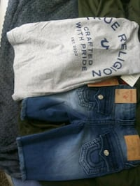 New boy's true religion outfit