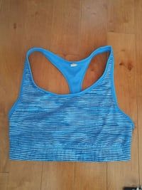 women's blue and white sports bra Kitchener, N2R 0A3