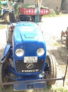 blue Force tractor