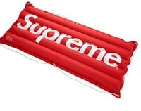Supreme inflatable raft *rare* 100% authentic more pics upon request Vancouver, V6J 2S1