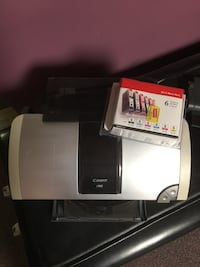 Canon i960 printer with  6  inks