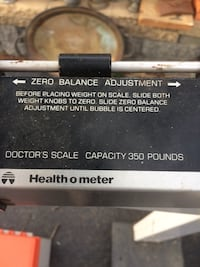 black and gray Health-O-Meter physician's scale Fishkill, 12524