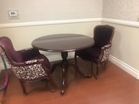 Wooden round table  Las Vegas, 89110