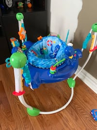 Baby's blue and green jumperoo Vaughan, L4L 1W8