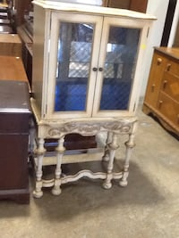 Cream glass cabinet  Rockville, 20850