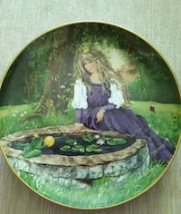 Princess and the frog Collector plate  Burlington, L7R 1Y3