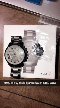 Fossil Q grant watch Calgary, T2X 3S5