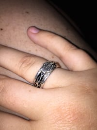 Fiddle ring size 7 silver Dalton, 30721