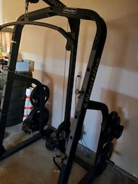 Squat/Bench Rack with Pulldown