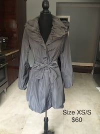 RW&Co grey trench coat size XS/S 549 km