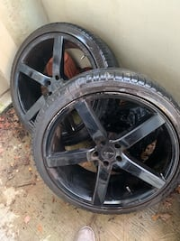 22in rims and tires Jackson, 39206