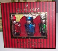 Waterford Holiday Heirloom Toy Soldier Ornaments Set of Three 138223  London