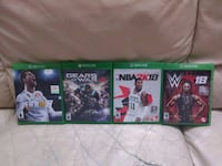 Xbox one games - $15 each  Los Angeles, 90004